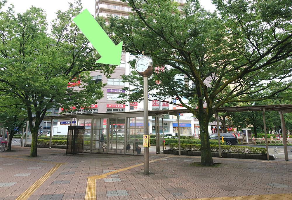写真:新宿線船堀駅前ロータリー